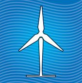 Sign Of Wind Energy