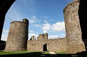 Kidwelly Castle, Camarthenshire, Wales 5