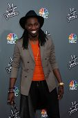 LOS ANGELES - APR 15:  Delvin Choice at the NBC's