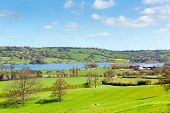 Blagdon Lake Somerset England UK south of Bristol provides drink