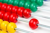 Colorful abacus toy