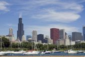 Chicago Seen From Lake Michigan