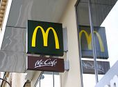 Mcdonald's In Paris, France