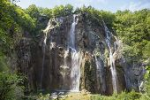 Large Waterfall In Croatia