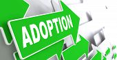 Adoption Word on Green Arrow.