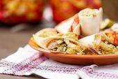 tortillas with dip