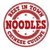 Noodles Stamp