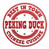 Peking Duck Stamp