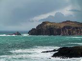 Dingle Peninsula Ireland On Cloudy Day
