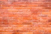 Glazed brick wall texture or background