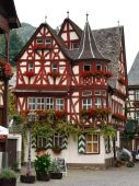 Altes Haus (old House), From 1368 In Bacharach, Germany