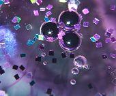 Water Bubbles in Oil