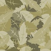 camouflage leaves