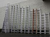 image of  rig  - Aluminum extension ladders and tripod ladders - JPG