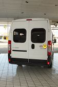 White Citroën Relay Light Commercial Transport  Van