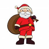 Santa Claus Carry Bag