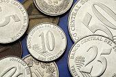 Coins of Ecuador. Ecuadorian centavo coins.