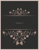 vintage template- vector