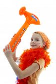 Girl With Orange Hammer