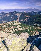 High Tatras from Low Tatras, Slovakia