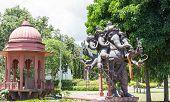 Five Head Ganesha Statue