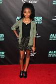 LOS ANGELES - OCT 6:  Skai Jackson at the