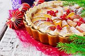 Traditional Christmas Apple Pie