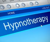 Hypnotherapy Concept.
