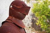 Постер, плакат: Old and rusty Medieval Knights Armor