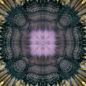 Aura Fractal Purple