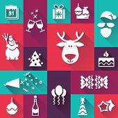 Happy New Year icons