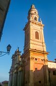 Cathedral Saint-michel In Menton