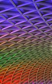 Ceiling arches, Kings Cross Station