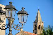 Lamppost In Alghero