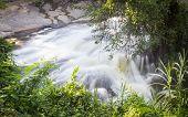 Mae Klang Waterfall In Chiang Mai Province, Doi Inthanon Thailand