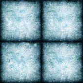 set of four blue textures.
