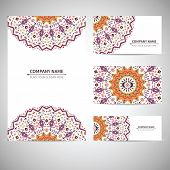 Business ctemplate. Vector illustration in native style