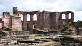 The emperor Thermes in Trier, Germany