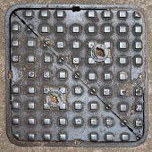 Square Metal Manhole Cover