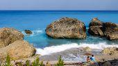 Kavalikefta Beach, Lefkada Island, Greece