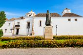 stock photo of faro  - Faro Archaeological Museum in Faro Algarve region of Portugal - JPG