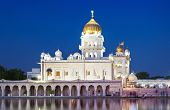 picture of bangla  - Gurdwara Bangla Sahib is the most prominent Sikh gurdwara