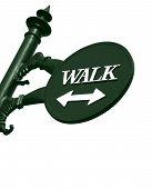 Walk sign