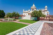 foto of mausoleum  - Jaswant Thada mausoleum in Jodhpur Rajasthan India - JPG