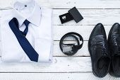 Man's style accessories.