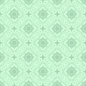 Decorative pattern pale green