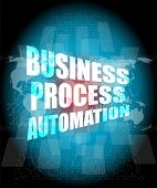 Business Process Automation Interface Hi Technology
