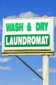 Laundromat Sign