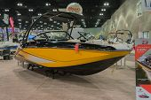 Scarab 215 Boat On Display