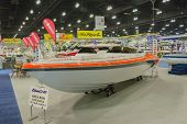 Hallett 255 Boat On Display